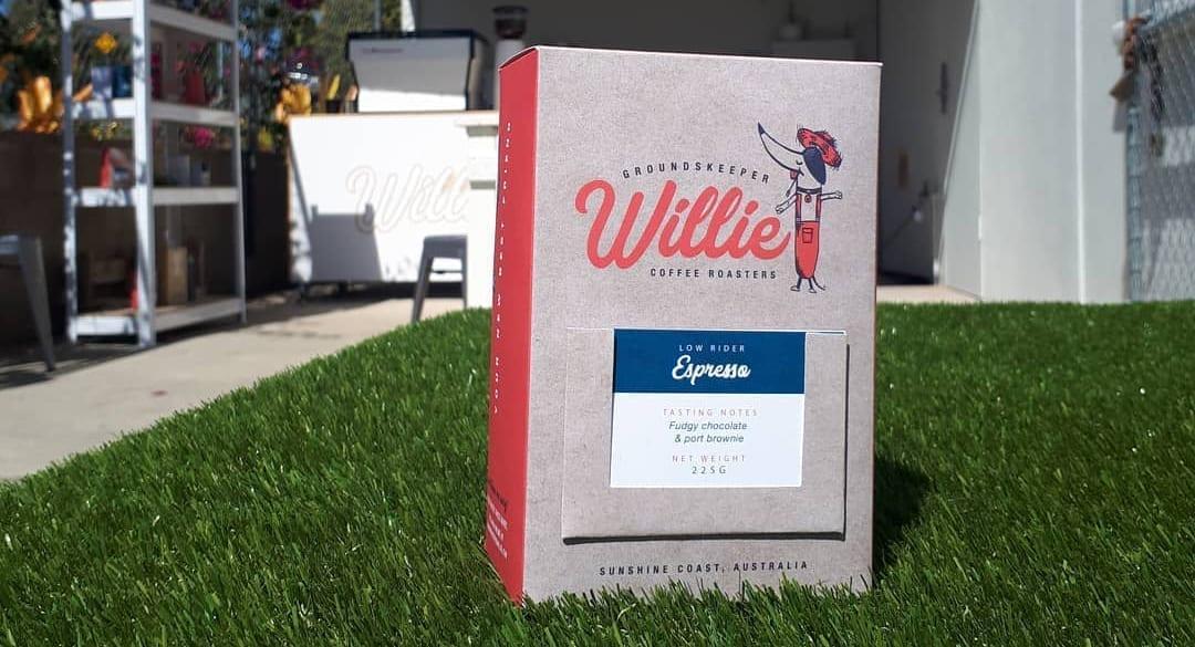 Groundskeeper Willie Coffee Packaging