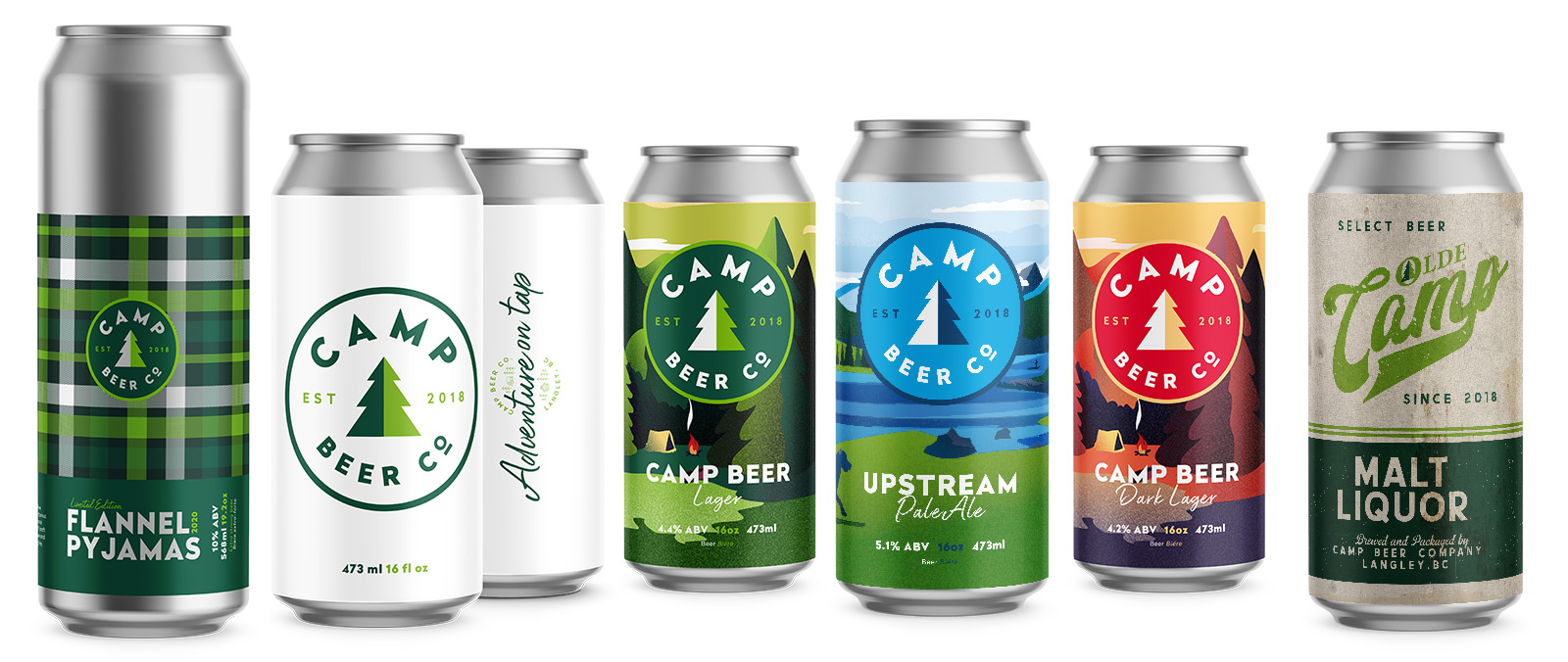Camp Cans - Digital Marketing Agency Vancouver - Blue Meta