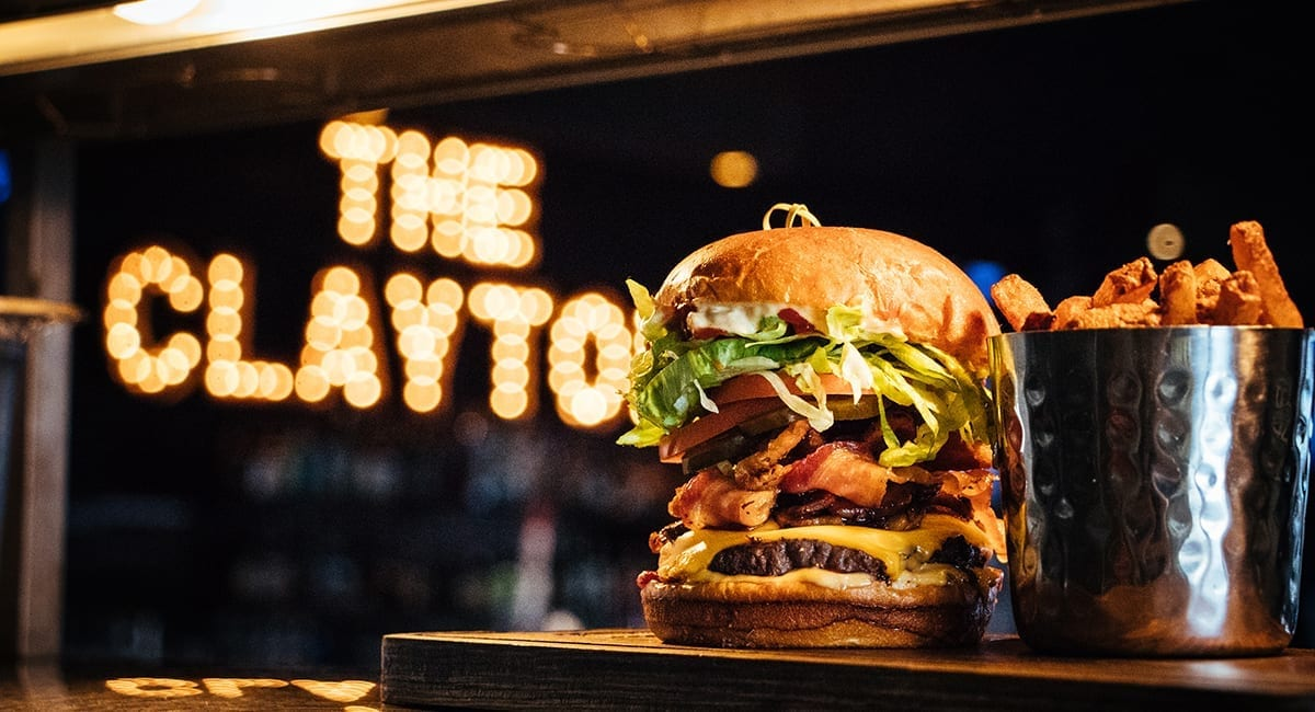 The Clayton Burger and Fries