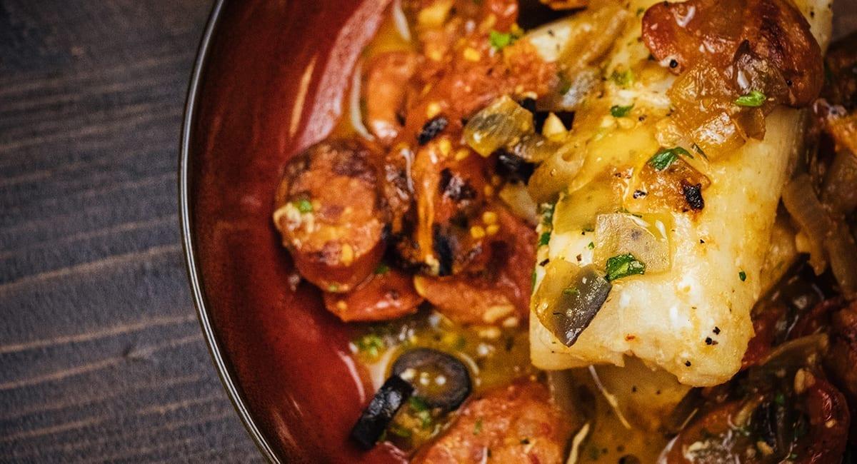 The Clayton's Cod Dish