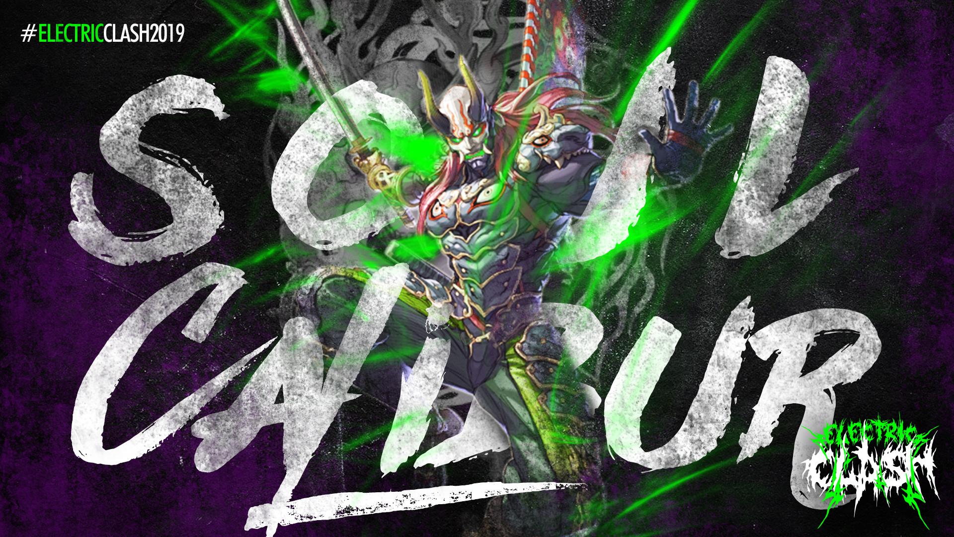 Soul Calibur ad creative, designed by Incendium.gg